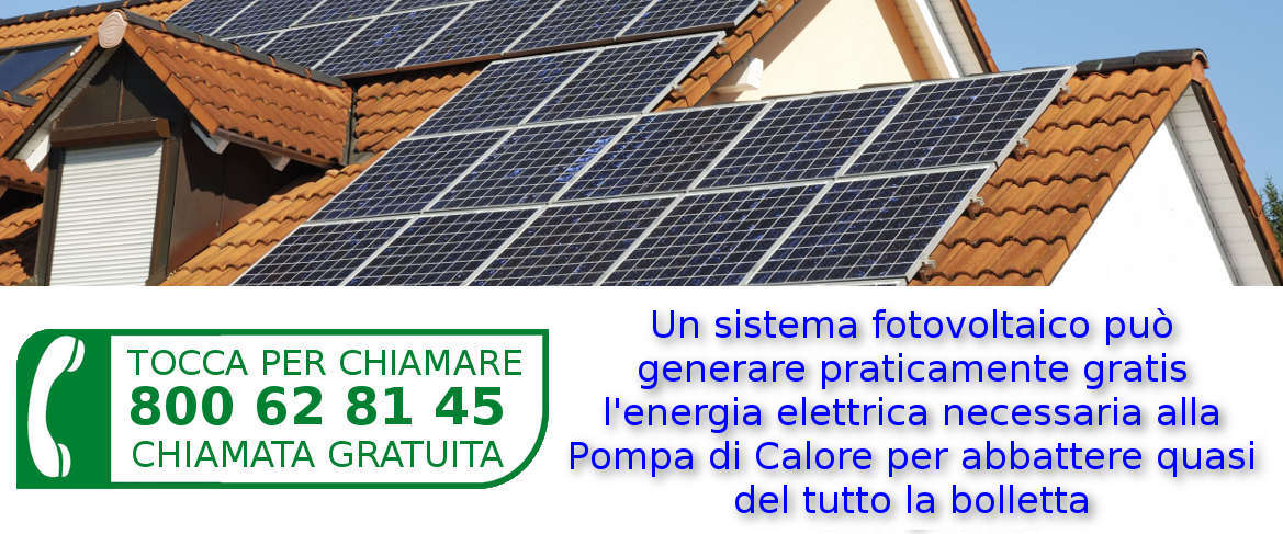 Risparmio Energetico con la Pompa di Calore Aria Acqua e Kit Fotovoltaico Solare